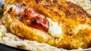 Prosciutto and Cheese Stuffed Chicken Breast Recipe
