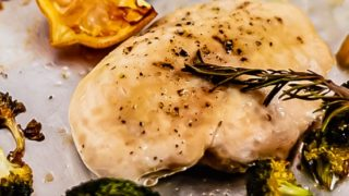 Sheet Pan Lemon Chicken with Broccoli