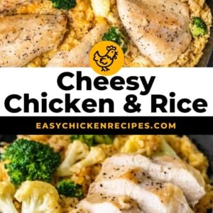 cheesy chicken and rice pinterest