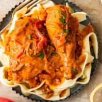 Creamy Chicken Paprikash Recipe