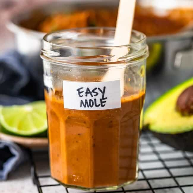 Easy Mole Sauce is such a great addition to your favorite meals! We love Chicken Mole and learning how to make this Homemade Mole Sauce has made all the difference for our best Mexican recipe!