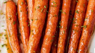 Honey Glazed Carrots Recipe with Ginger