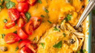 Green Chile Chicken Casserole Recipe