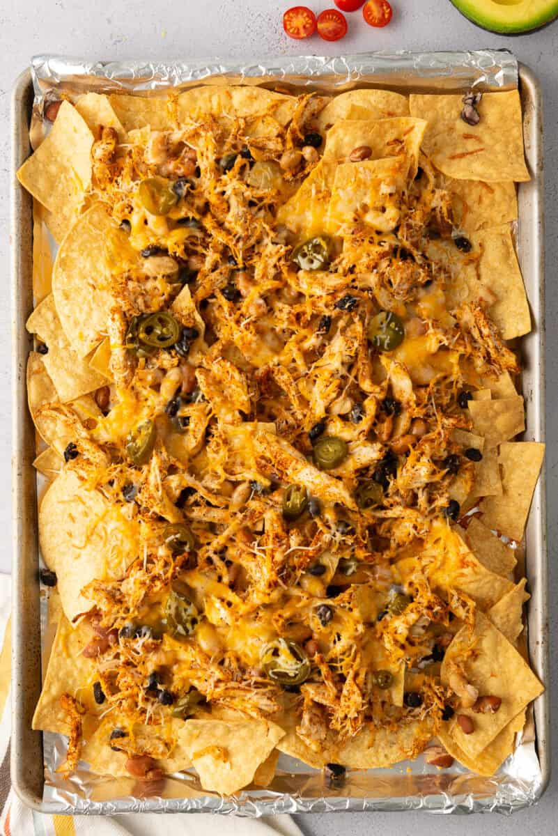 baking mexican nachos