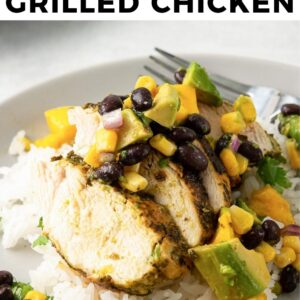cilantro lime grilled chicken pinterest