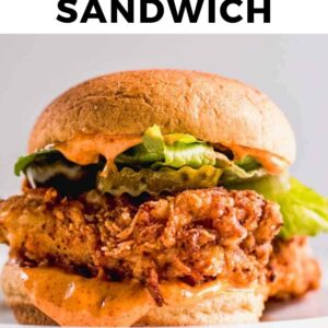 fried chicken sandwich pinterest