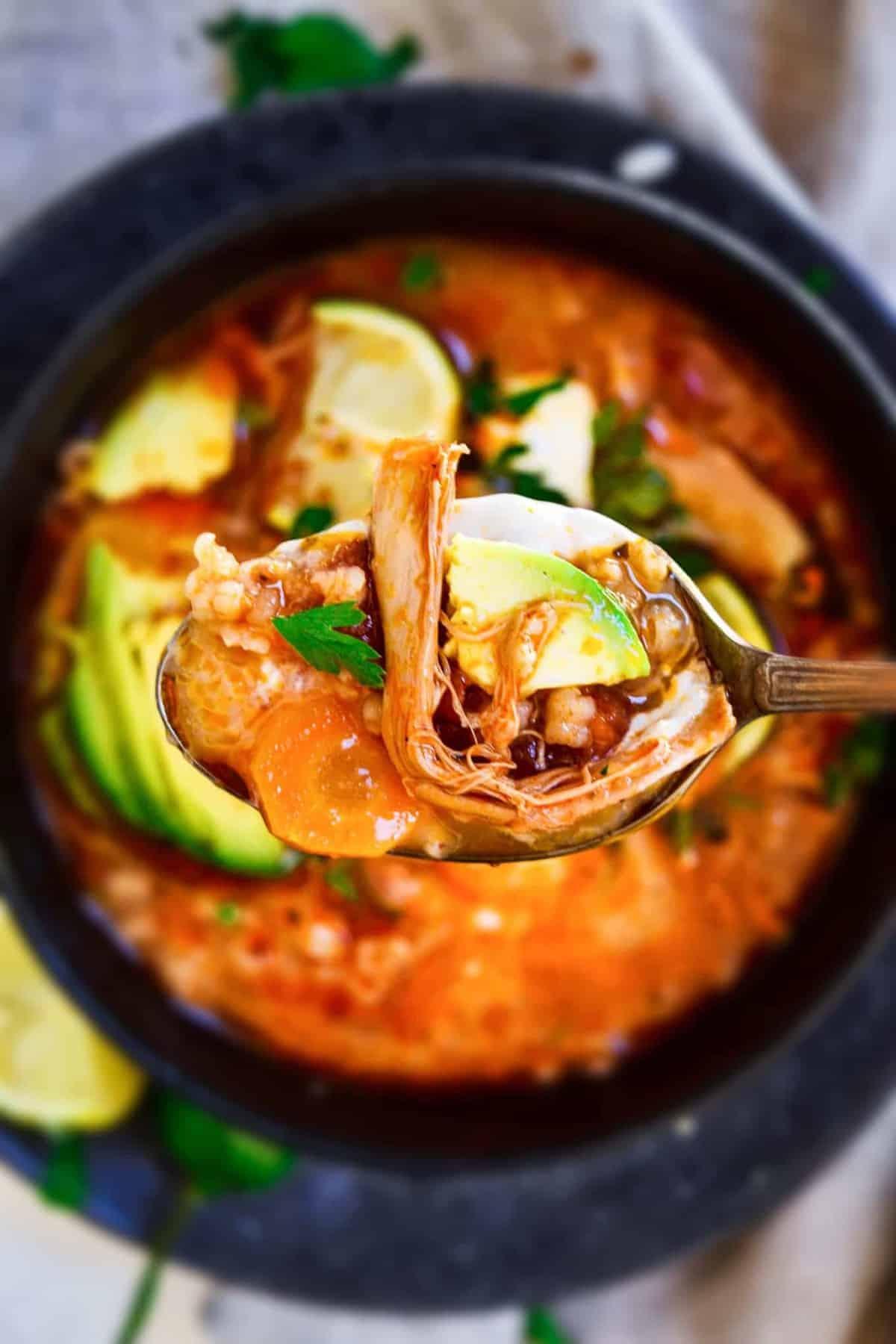 Spicy Mexican Chicken Soup Recipe Easy Chicken Recipes Video