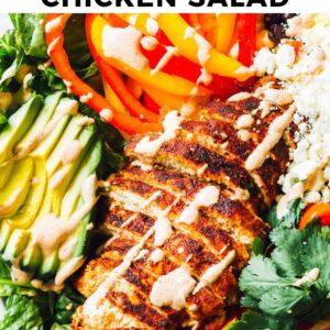 southwest chicken salad pinterest