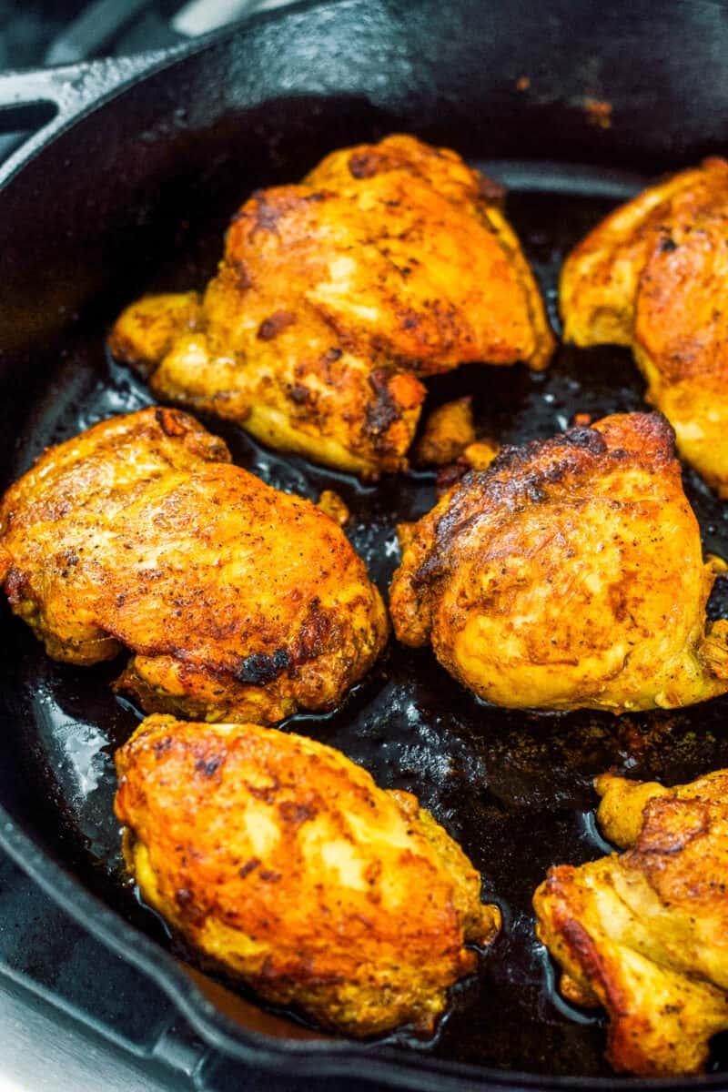 chicken thighs for chicken florentine