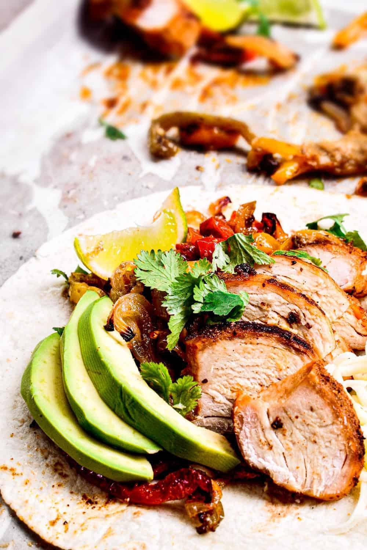 best chicken fajita unwrapped