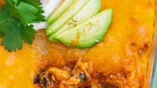 Best Chicken Enchilada Dip Recipe