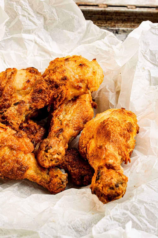 batch of chicken drumsticks