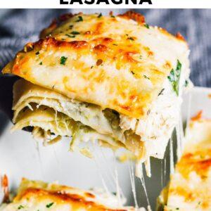 white chicken lasagna pinterest