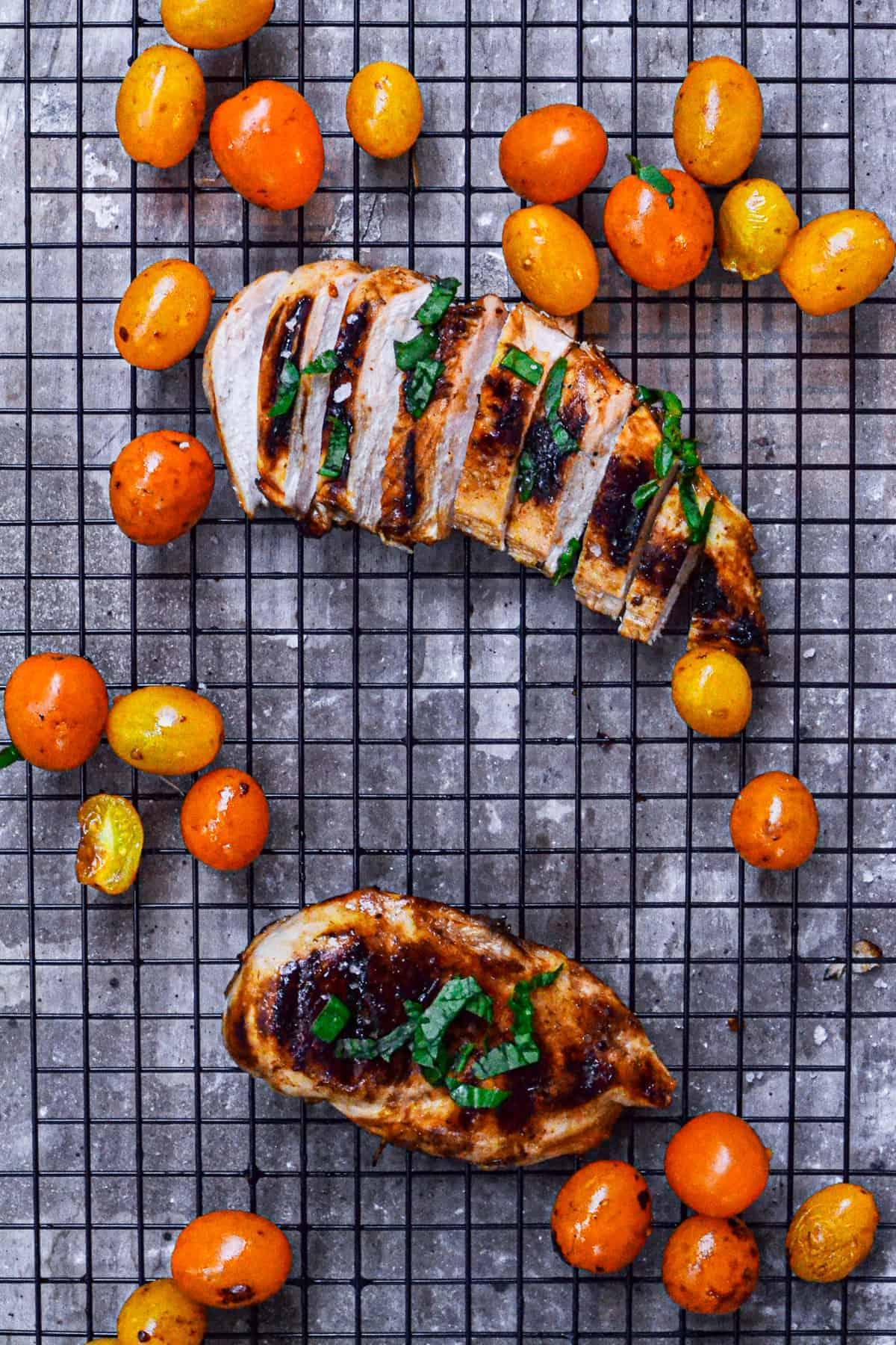 sliced chicken breast