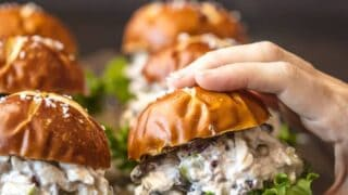 Healthy Chicken Salad Sliders