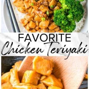 chicken teriyaki pinterest
