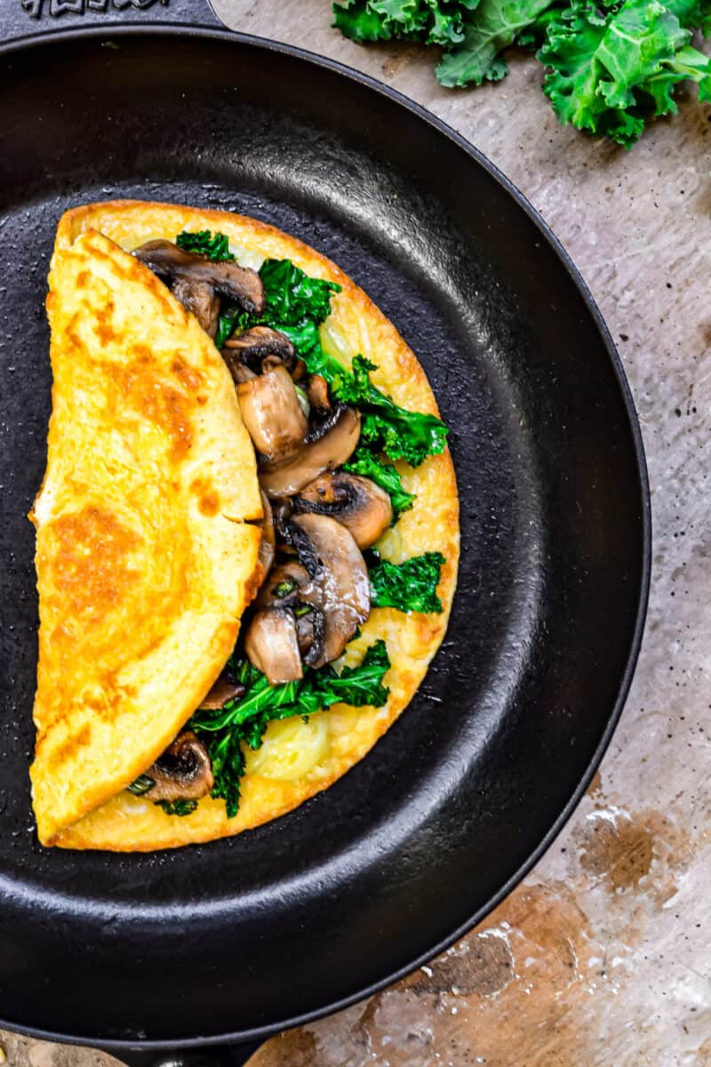Healthy Omelette with delicious filling