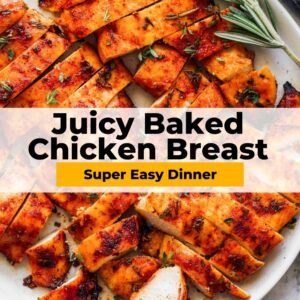 baked chicken breast pinterest