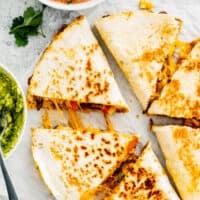 featured easy chicken quesadillas