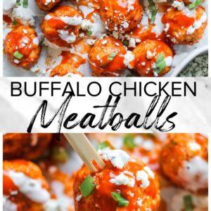 buffalo chicken meatballs pinterest collageg