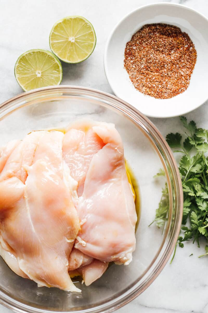 chicken breast ingredients for grilling