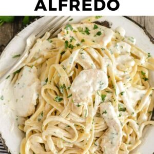 homemade chicken alfredo pinterest