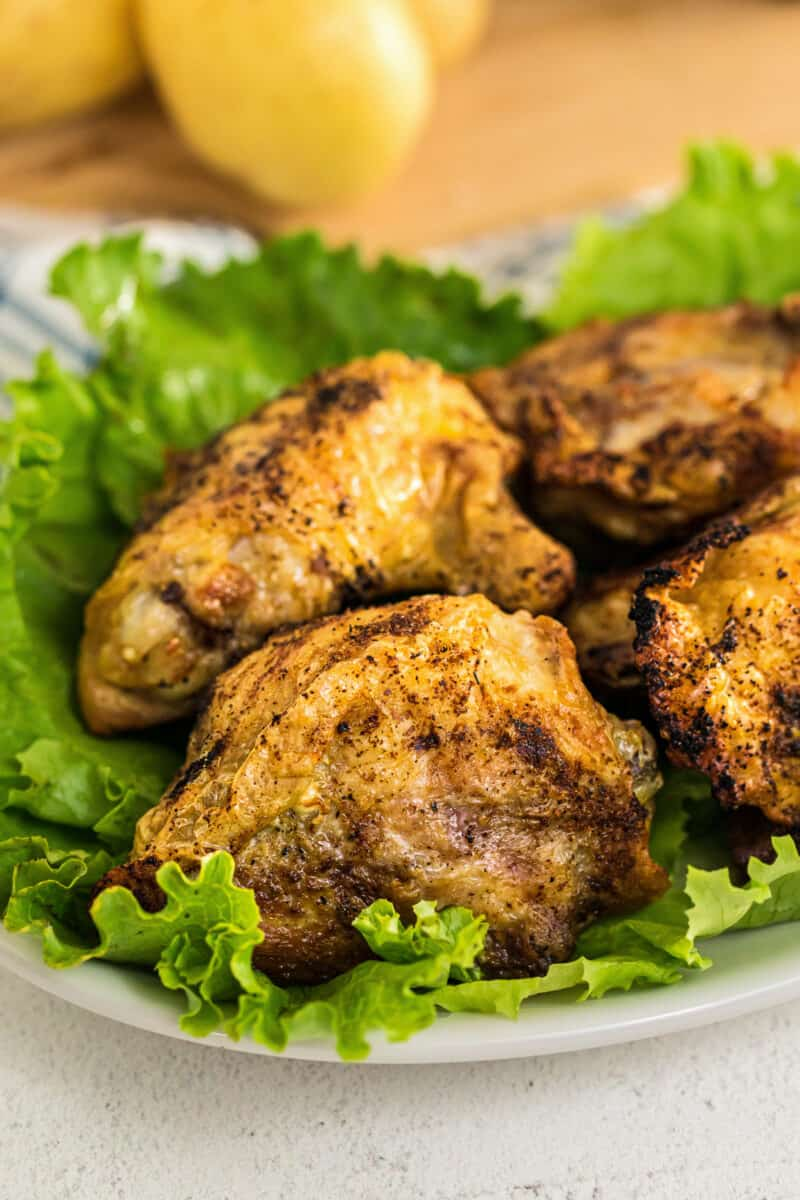 Air Fryer Chicken Thighs Easy Chicken Recipes