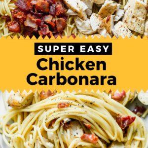chicken carbonara pinterest
