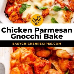 chicken parmesan gnocchi bake pinterest