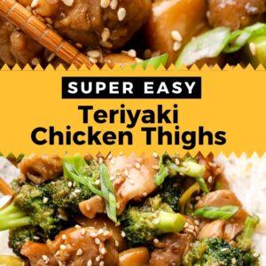 teriyaki chicken thighs pinterest