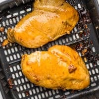 marinated chicken breast in an air fryer