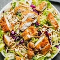 Applebee's Oriental Chicken Salad Recipe copycat in bowl