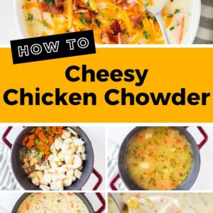 cheesy chicken chowder pinterest