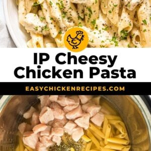 instant pot cheesy chicken pasta pinterest