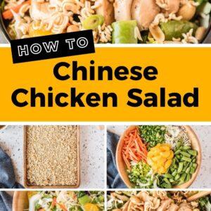 chinese chicken salad pinterest