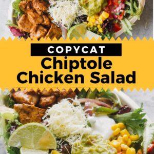 chipotle chicken salad pinterest
