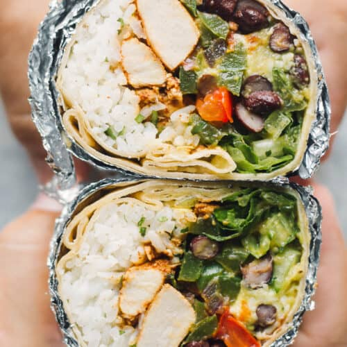 Copycat Chipotle Chicken Burrito Easy Chicken Recipes