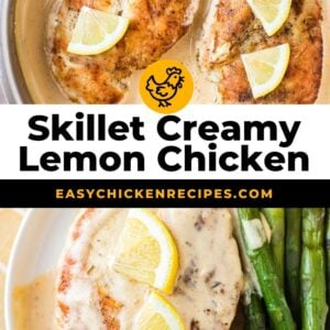 skillet lemon chicken pinterest