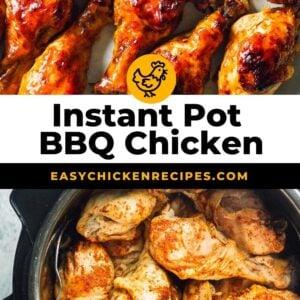 instant pot bbq chicken pinterest