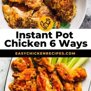 instant pot chicken 6 ways