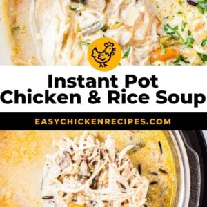 instant pot chicken wild rice soup pinterest