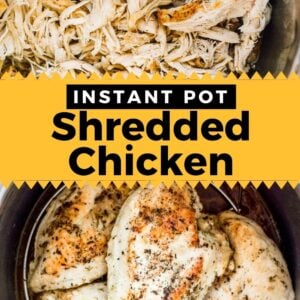instant pot shredded chicken pinterest