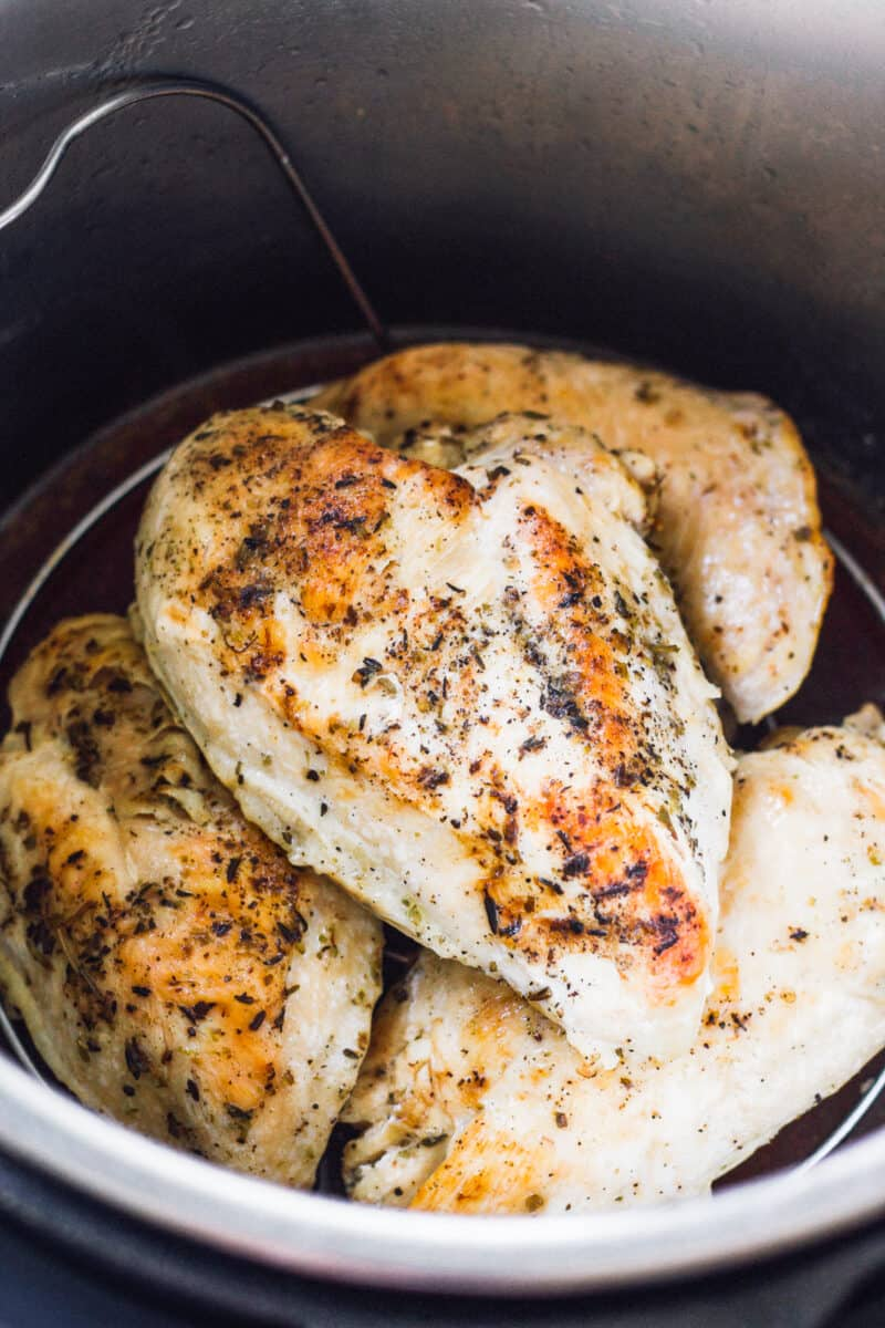 cooking chicken breasts in instant pot