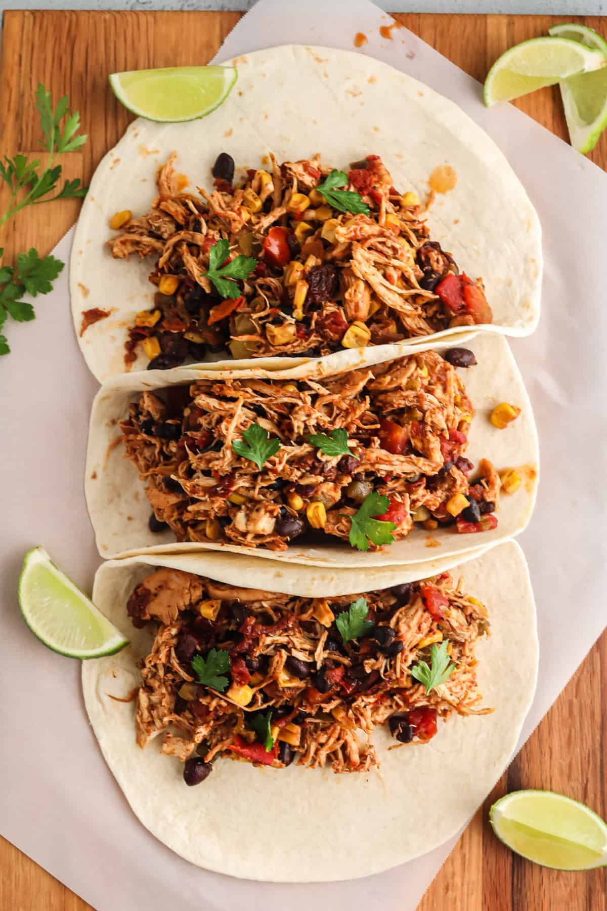 Shredded Chicken Tacos Crockpot Mexican Chicken Easy Chicken Recipes