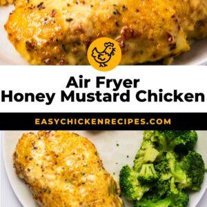 air fryer honey mustard chicken pinterest