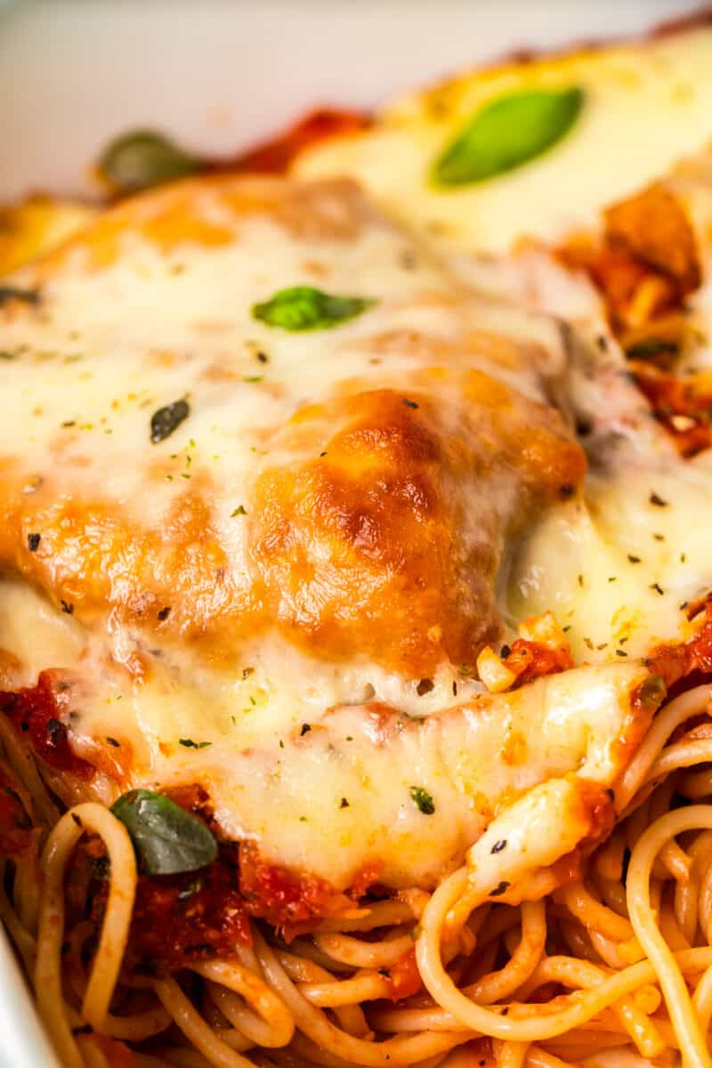 cheesy baked chicken parmesan