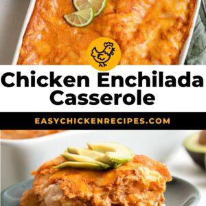 chicken enchilada casserole pinterest