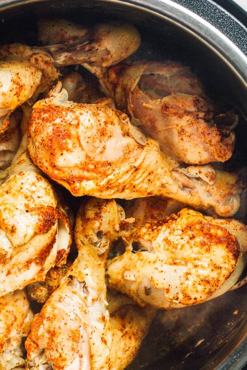 chicken drumsticks cooked in instant pot