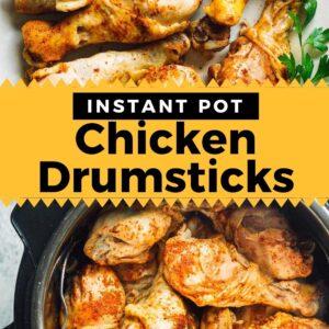 instant pot chicken drumsticks pinterest