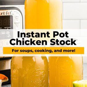 instant pot chicken stock pinterest